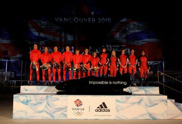 Team GB adidas Winter Olympic Kit Launch